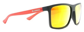 Очки солнцезащитные Blizzard Jamaica, оранжево-черные (PC801-222)