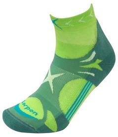 Термоноски для бега Lorpen X3UM 4224, зеленые (62 100 384 224)