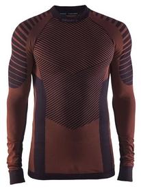 Термофутболка мужская с длинным рукавом Craft Active Intensity AW 17, коричневая (1905337-480566)