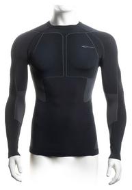 Термофутболка мужская Accapi Polar Bear Long Sleeve Shirt Man 966, черно-серая (A740-966)