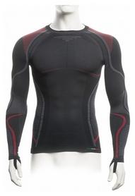 Термофутболка мужская Accapi Ergoracing Long Sleeve Shirt Man 906, черно-серая (А750-906)