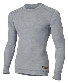 Термофутболка огнестойкая мужская Aclima Work X-Safe Shirt Crew Neck, серая (AC401033052)
