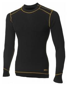 Термофутболка мужская Aclima Work Warm Shirt Crew Neck, черный (AC421033001)