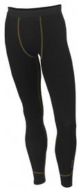 Термокальсоны мужские Aclima Work Warm Long Black, черные (AC424033001)