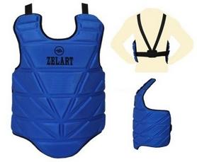 Защита груди (жилет) ZLT ZB-4222-B, синяя