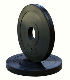 Диск обрезиненный RN Sport, 5 кг (OB005)