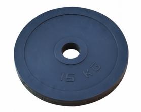 Диск обрезиненный RN Sport, 15 кг (OB0015)