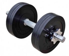 Гантель наборная обрезиненная RN Sport, 11 кг (RN_OD11)