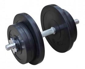 Гантель наборная обрезиненная RN Sport, 21 кг (RN_OD21)