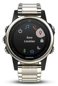Часы спортивные Garmin fenix 5S Sapphire, серебряные (010-01685-15)