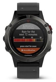 Часы спортивные Garmin fenix 5S Sapphire, черные (010-01688-00)