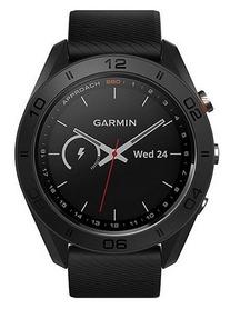Смарт-часы Garmin Approach S60, черные (010-01702-00)