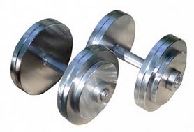 Гантели наборные RN Sport, 2 шт по 28 кг (StD-28)