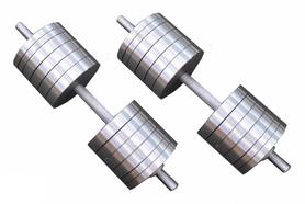 Гантели наборные RN Sport, 2 шт по 55 кг (StD-55)