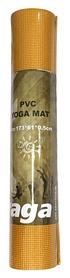Коврик для йоги (йога-мат) Saxifraga PVC Yoga Mat - желтый, 5 мм (SMY17U1Q-GL-golden-2017)
