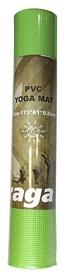 Коврик для йоги (йога-мат) Saxifraga PVC Yoga Mat - зеленый, 5 мм (SMY17U1Q-GL-Green-2017)