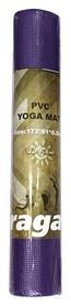 Коврик для йоги (йога-мат) Saxifraga PVC Yoga Mat - фиолетовый, 5 мм (SMY17U1Q-GL-Violet-2017)