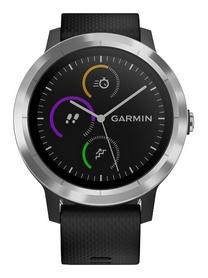 Смарт-часы Garmin Vivoactive 3, серебристые (010-01769-02)