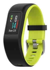 Смарт-часы Garmin Vivosport Fuchsia - черно-желтые, L (010-01789-23)