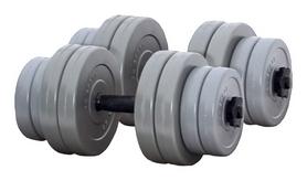 Гантели наборные RN Sport Gray, 2 шт по 16 кг