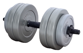 Гантель наборная RN Sport Gray, 13 кг