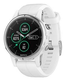 Смарт-часы Garmin Fenix 5S Plus Sapphire, белые (010-01987-01)