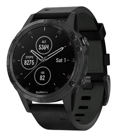 Смарт-часы Garmin Fenix 5 Plus, черные (010-01988-01)