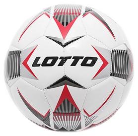 Мяч футбольный Lotto Ball Fb 1000 IV 5 T6855/T6865 FW-18 - красный, №5 (8059136980733)