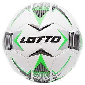 Мяч футбольный Lotto Ball Fb 1000 IV 5 T6856/T6866 FW-18 - зеленый, №5 (8059136980740)