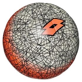 Мяч футбольный Lotto Ball FB500 LZG 4 S4083 FW-17 - серо-оранжевый, №4 (8059136202538)
