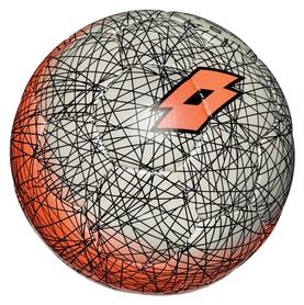 Мяч футбольный Lotto Ball FB500 LZG 5 S4087 FW-17 - серо-оранжевый, №5 (8059136202576)