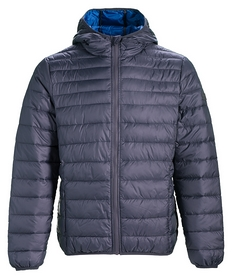 Куртка мужская Lotto Jonah IV Bomber Light Pad T5495 FW-18, серая (T5495)