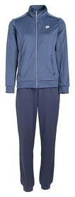 Костюм спортивный женский Lotto Meryl Vi Suit Rib Pl W T3316 SS-18, синий  (T3316)