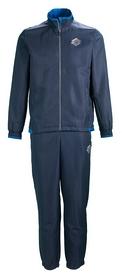 Костюм спортивный Lotto Devin V Suit Cuff Db S8726 FW-17, синий (S8726)