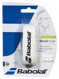 Намотка для теннисной ракетки (грип) Babolat Woofer Grip 670028/149, бело-красная (3324921083063)