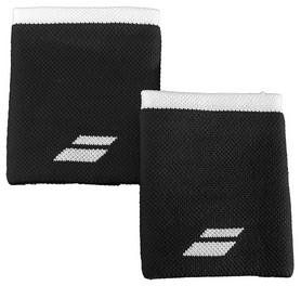 Повязка на кисть (напульсник) Babolat Wristband Logo Jumbo 5US18262/2001, черная (3324921604473)