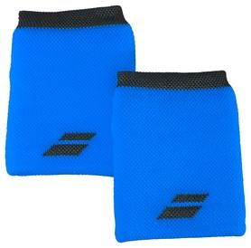 Повязка на кисть (напульсник) Babolat Wristband Logo Jumbo 5US18262/4024, синяя (3324921604480)