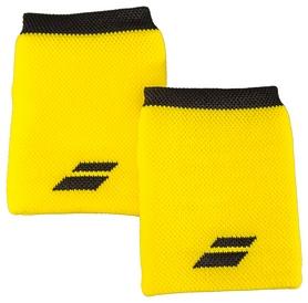 Повязка на кисть (напульсник) Babolat Wristband Logo Jumbo 5US18262/7001, желтая (3324921604503)