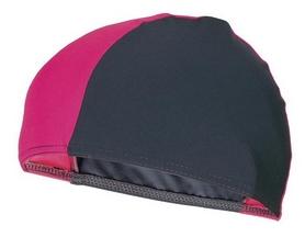 Шапочка для плавания Spokey Lycras, черно-розовая (MC834340)