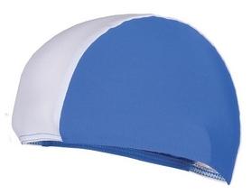 Шапочка для плавания Spokey Lycras, бело-голубая (MC834341)