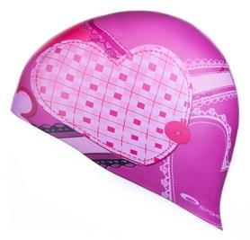 Шапочка для плавания детская Spokey Stylo JR Heart pic (MC839244)