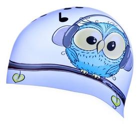 Шапочка для плавания детская Spokey Stylo JR Owl pic (MC839247)