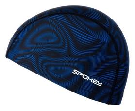 Шапочка для плавания Spokey Trace, черная (MC922543)
