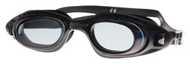 Очки для плавания Spokey Dolphin 84101, черные (MC84101)