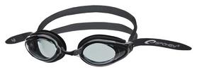 Очки для плавания Spokey H2O 831596, черные (MC831596)