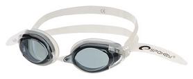 Очки для плавания Spokey H2O 831598, белые (MC831598)