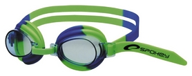 Очки для плавания детские Spokey Jellyfish 84106, зеленые (MC84106)