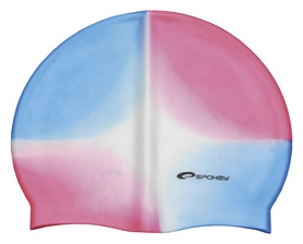 Шапочка для плавания Spokey Abstract Cup 83498, розовая (MC83498)