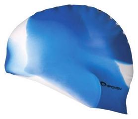 Шапочка для плавания Spokey Abstract Cup 85369, синяя (MC85369)
