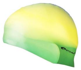 Шапочка для плавания Spokey Abstract Cup 85372, зеленая (MC85372)